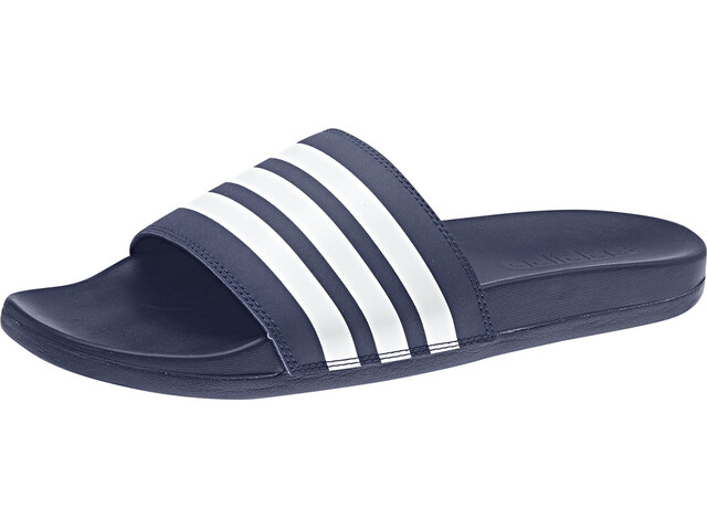 adidas Adilette Comfort Slides Heren, dark blue/footwear white/dark blue